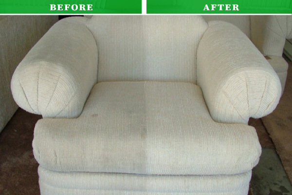 Before & After Upholstery Cleaning Service in Hammersmith